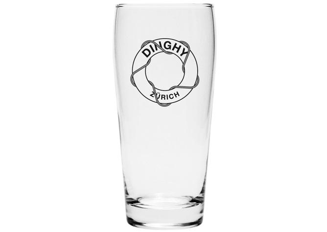 Dinghy-Bierglass